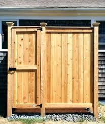 outdoor shower accessories impressive showers enclosures cedar cape cod kits co pvc pipe enclosure sh outdoor shower