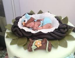 WOODLAND BABY SHOWER OWL FONDNAT CAKE TOPPER BABY SHOWER Baby Shower Owl Cake Toppers