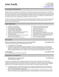 It Resumes Templates Classy Top Professionals Resume Templates Samples