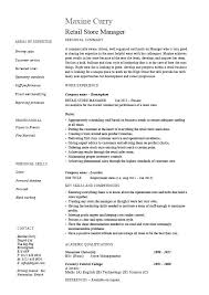 Assistant Store Manager Resume New Assistant Store Manager Resume Duties Retail Letsdeliverco