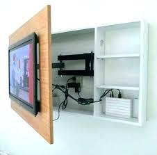 adjule tv wall mount with shelves