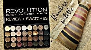 review swatches makeup revolution london flawless eyeshadow palette arti agarwal