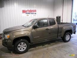 2015 GMC Canyon Extended Cab 4x4 in Bronze Alloy Metallic - 154907 ...
