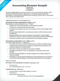 resume for an accountant accountant resume cover letter resume