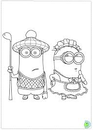 Small Picture Despicable Me Coloring Pages image information
