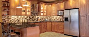 Wood Kitchen Cabinets With Glass Doors Society Hill Cabinets Cherry