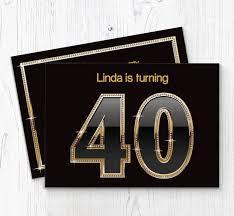 40th Birthday Invitations 40th Birthday Party Invitations