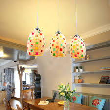 colored glass lighting. Colorful Glass Shade Pendant Light For The Study Room Colored Lighting S
