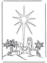 Kleurplaat Kerstfeest Christelijk