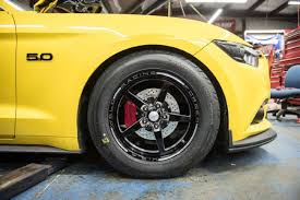 baer brakes drag race braking system on 2015 mustang