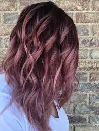 Rose Gold And Lavender Color Dye