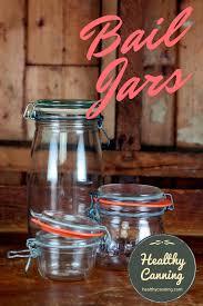 bail lid jars