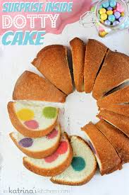 Surprise Inside Dotty Cake Recipe And Tutorial In Katrinas Kitchen