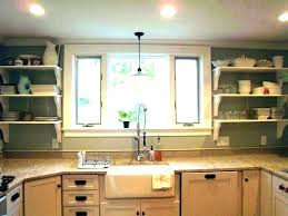 kitchen sink pendant light height over the