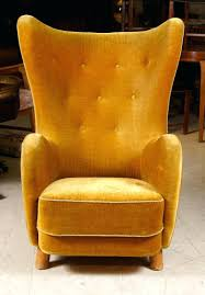 ... High Back Winged Leather Armchair Yellow Chair Design Ideas Armchair  High Back Winged Leather Chair
