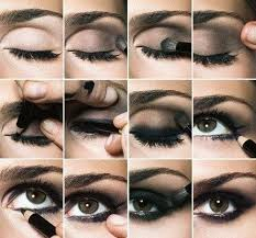 smokey brown eyes