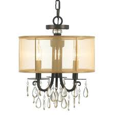crystal shade chandelier chandelier with crystal shade and gilded fittings glasses mariella 4 light