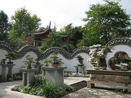 bonsai gardens. montreal botanical gardens: bonsai garden gardens 0