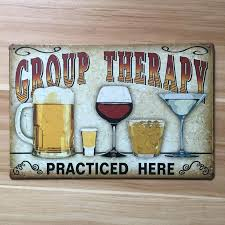 antique metal wall art about drinking and beer metal painting vintage tin signs home decor plate