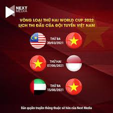 Uae chính là quốc gia đăng cai các trận đấu còn lại ở bảng g của tuyển việt nam, malaysia, thái lan và indonesia. Ä't Việt Nam Sẽ Ä'á»'i Ä'ầu Vá»›i Malaysia Tren San Khach Vao Ngay 30 3 2021