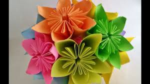 Paper Origami Flower Bouquet How To Make Kusudama Flower Ball Kusudama Flower Bouquet