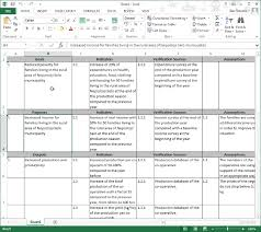 Ms Excel Exporting Your Logical Framework To A New Ms Excel Workbook Logframer