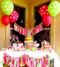 diy birthday party decorations decoration ideas for s