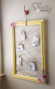Homemade Memo Board Inspiration Shanty Memo Frame DIY The Household Pinterest Jute Twine