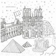 Small Picture Around The World Travel City Coloring Book For Adult Painting Anti