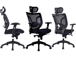 chair with headrest. newton mesh high back executive operator chair with headrest m