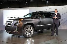 new car release october 2013Bring on the bling Remade Cadillac Escalade debuts  NBC News