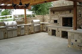 Outdoor Kitchen And Fireplace Designs