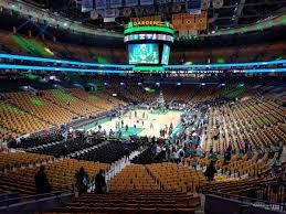 boston celtics seat view for td garden loge 5