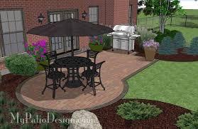 small paver patio design 3 small paver patio designs v73