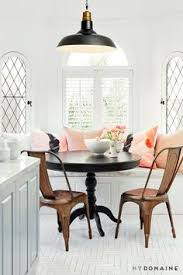 modern california aesthetic copper chairsmetal dining room