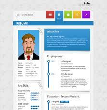 leta vcard wordpress theme modern personal resume theme download