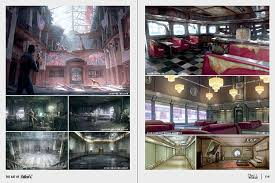 through the gallery above to see some of the book s art including never before seen renders of the post apocalyptic rpg s environments characters