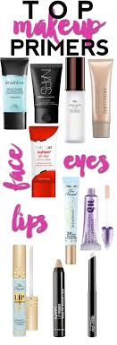 top makeup primers the best makeup primers for your face lips and eyes