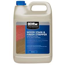 behr premium 1 gal wood stain and finish stripper