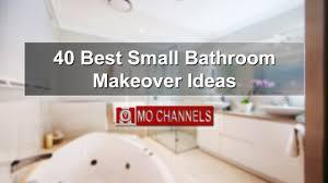 Best Small Bathroom Makeover Ideas YouTube - Bathroom makeover