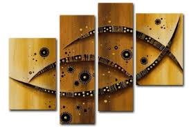 ethnic abstract rustic multi panel four piece wall art set brown sculptures painting large awesome pictures on 4 piece wall art set with wall art best sample ideas panoramic wall art art prints on canvas