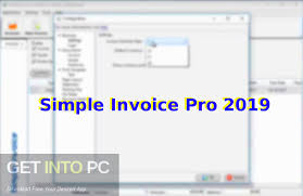 Computer Invoice Software Simple Invoice Pro 2019 Free Download