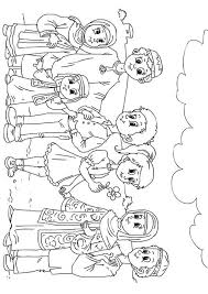 Kleurplaat Westerse Kinderen In Moslim Cultuur Afb 26233