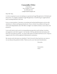 Receptionist Cover Letter For Resume template Receptionist Cover Letter Template 39