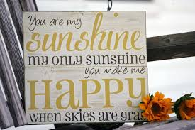 you are my sunshine wooden wall art new you are my sunshine wall art hand painted