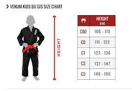 Venum Shorts Size Chart Venum Challenger Bjj Gi White