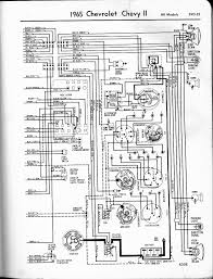 57 65 chevy wiring diagrams 1965 chevy ii all models left