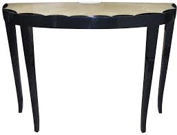 small demilune hall table. Console Table Furniture Small Demilune Entry Painted With Black Color For Saving Spaces Ideas Hall F