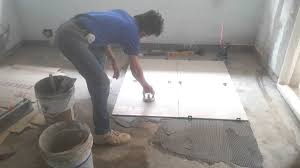 Bathroom Tile Installers Floor Tile Installation Process 60x60 Cm Polished Tiles Youtube