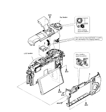 Sony dig camera parts model nex6 sears partsdirect rear assy electrical diagram for house wiring